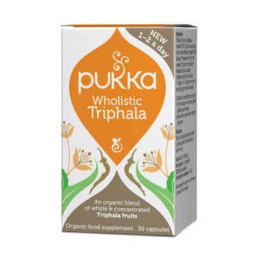 Pukka Wholistic Triphala Capsules 30s