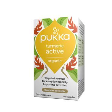 Pukka Active Capsules 60 caps (Turmeric & Boswellia)