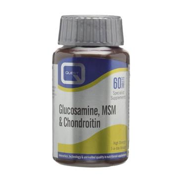 Quest Glucosamine, MSM & Chondroitin Tablets 60s