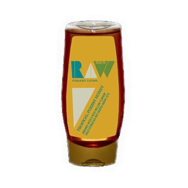 Raw Health Organic Tropical Forest Honey 350g