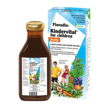 Salus Floradix Kindervital for Children Fruity Formula 250ml