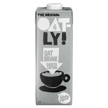 Oatly Barista Foamable Oat Milk 1l