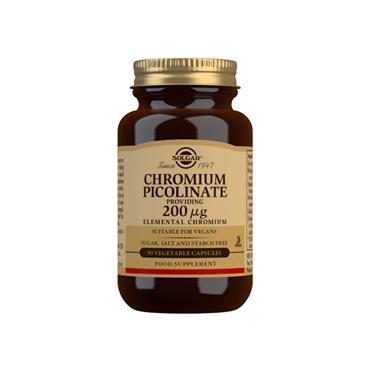 Solgar Chromium Picolinate 200ug 90 Capsules
