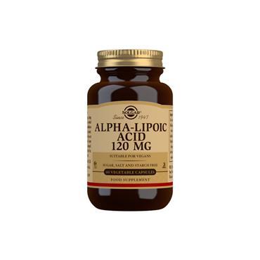 Solgar Alpha Lipoic Acid 120mg 60 capsules