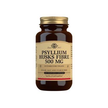 Solgar Psyllium Husks 500mg Capsules 200 Capsules
