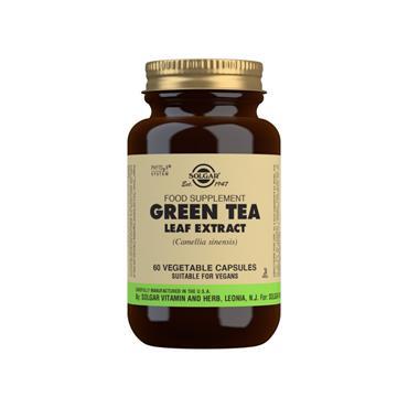 Solgar Green Tea Extract SFP Veg Caps 60s
