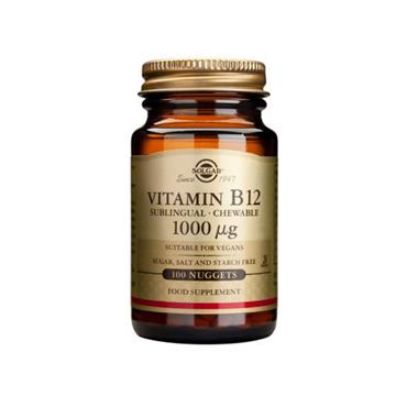 Solgar Vitamin B12 1000ug Nuggets 100 Nuggets