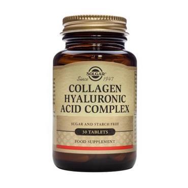 Solgar Hyaluronic Acid 120mg Complex 30 Tablets