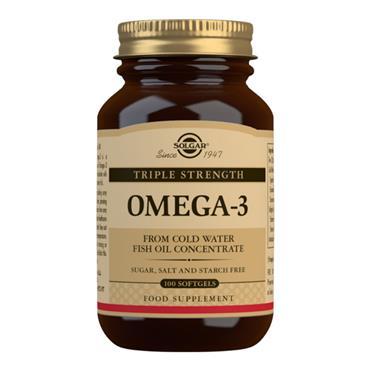 Solgar Omega 3 Triple Strength SoftGels 100s