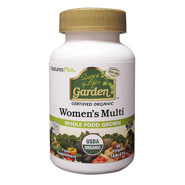 Nature's Plus Source of Life Garden Organic Women's Multi Tablets 90s