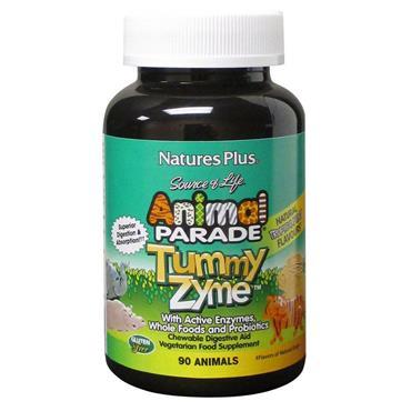 Nature's Plus Animal Parade TummyZyme Chewable Digestive Aid 90s