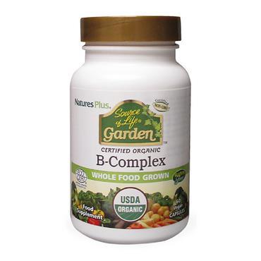 Source of Life Garden- B-Complex Organic 60 Capsules