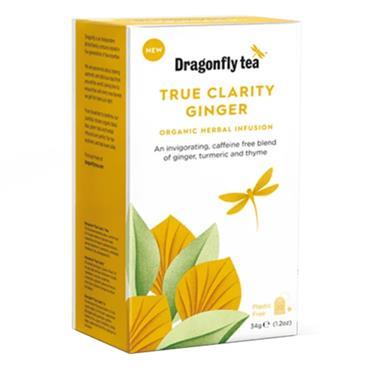 Dragonfly Tea Organic Ginger Clarity Herbal Tea 20s
