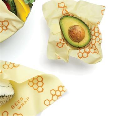 Bees Wrap Reusable Food Wrap 3pk