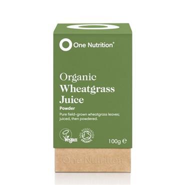 One Nutrition Wheatgrass Juice Powder 100g