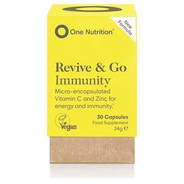 One Nutrition New Formula Revive & Go Immunity Ester-C 500mg 30s