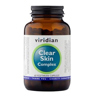 Viridian Clear Skin Complex 60 Capsules