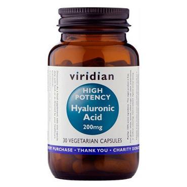 Viridian High Potency Hyaluronic Acid 200mg 30 Capsules