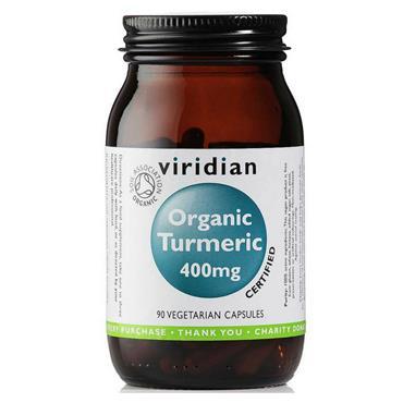 Viridian Organic Turmeric 400mg 90s