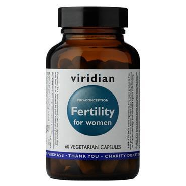 Viridian Fertility for Women 60 capsules