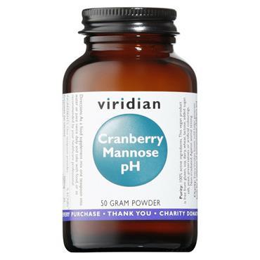Viridian Cranberry Mannose pH 50g powder