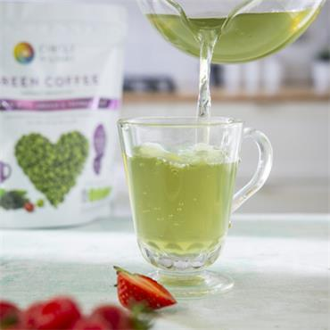 Circle of Light Green Coffee with Herbal Teas 200g