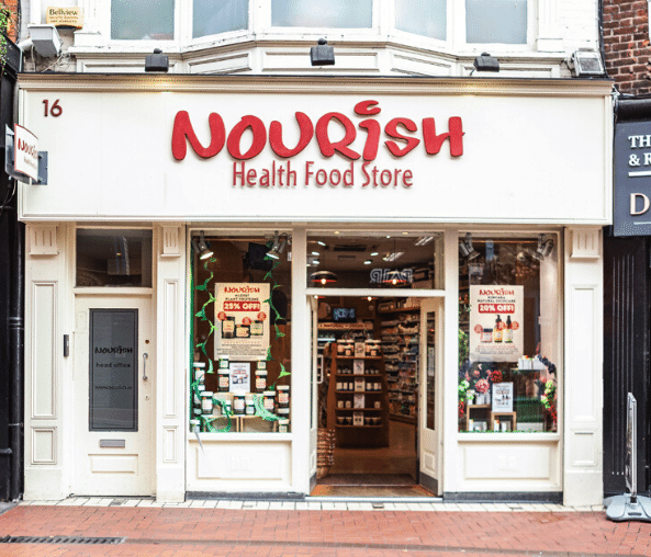 Nourish Wicklow Street Store in Dublin
