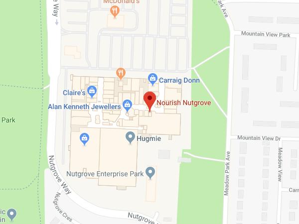 Nourish Nutgrove location map