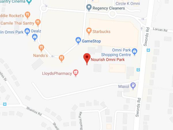 Nourish Omni Shopping Centre location map