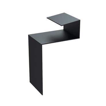 Slate Dry Verge (T2) Aluminium Jointer (25mm) Black