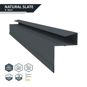 Retro-Fit Slate Dry Verge Alu. 25mm Blue/Black