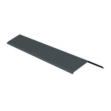 Ridge Capping Alu. (65 x 65) Blue/Black 2.4m