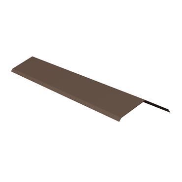 Ridge Capping Alu. (65 x 65) Brown 2.4m