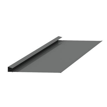 Standard Valley Slate Trim Alu. Blue/Black 2.4m