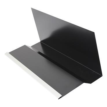 Continuous Aluminium Soaker 2.4m Black