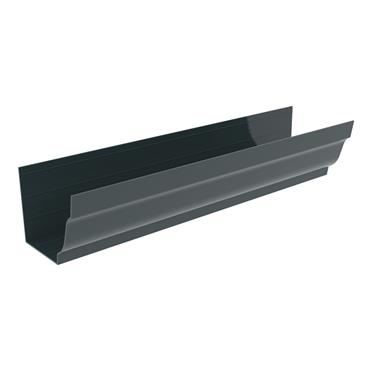 Ogee Aluminium Gutter 125mm x 3m RAL 7016