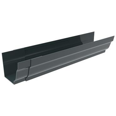 Ogee Aluminium Gutter 125mm x 3m (welded Jointer) RAL 7016