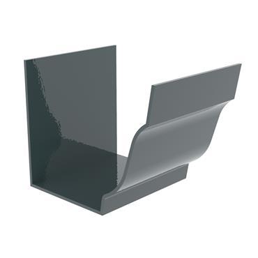 Ogee Aluminium Gutter Internal Union Jointer 125mm RAL 7016