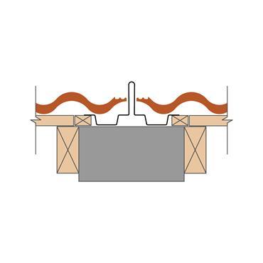 Dry Fix Bonding Strip GRP (natural/man made slate) 225 x 3000mm