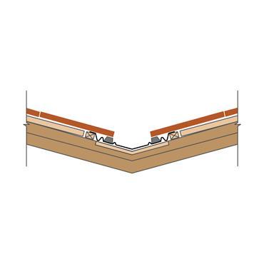 Narrow Valley Trough GRP (single lap tiles) over batten fix 360 x 3000mm