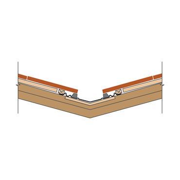 Standard Valley Trough GRP (slate or tiles) under batten fix 400 x 3000mm