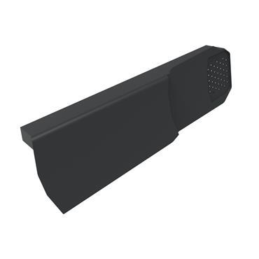 Uni-Fix Dry Verge Unit (RH) Black (pack of 10)