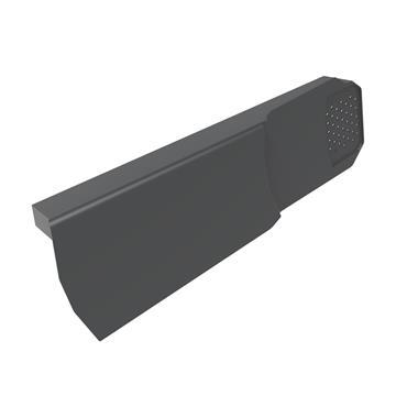 Uni-Fix Dry Verge Unit (RH) Grey (pack of 10)