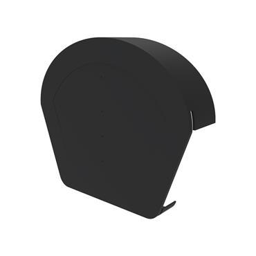 Uni-Fix Half Round Ridge Cap Black