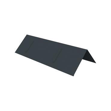 Kytun Ridge Capping - 90 deg Black 2.4m
