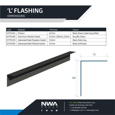 L Flashing (4 x 2.4m)