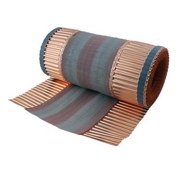 Ventilated Copper Ridge Roll 390mm x 6m