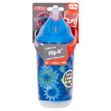 Nuby Thirsty Kids Toddler Cup Flip It Beaker 12 - 18M+