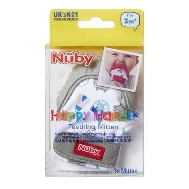 Nuby Teething Mitt 3M+