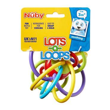 Nuby Lots of Loops Teether 3M+